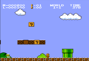 Super Mario Bros Two Players