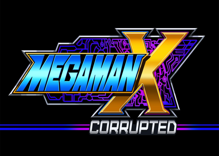 Mega Man X Corrupted Title Screen