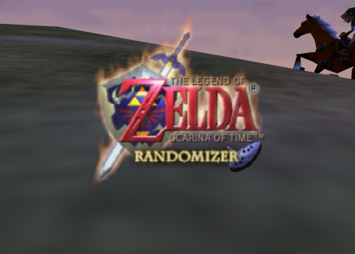 Ocarina of Time Randomizer Title Screen