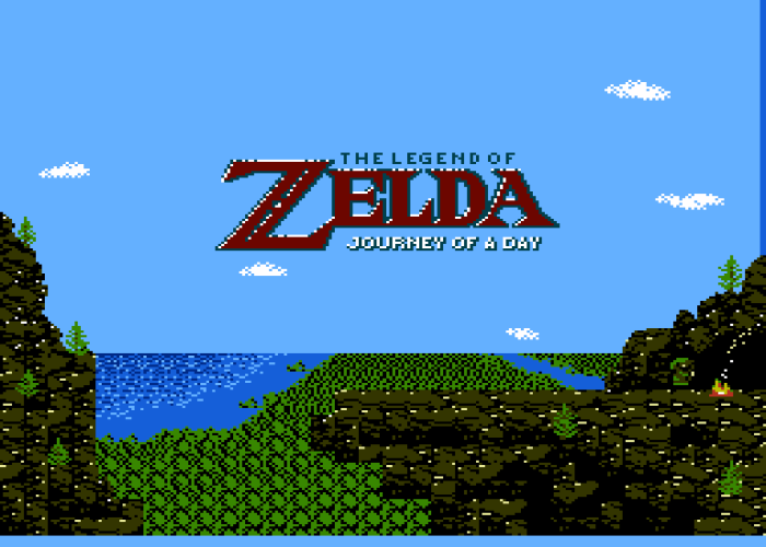 Journey of A Day Title Screen